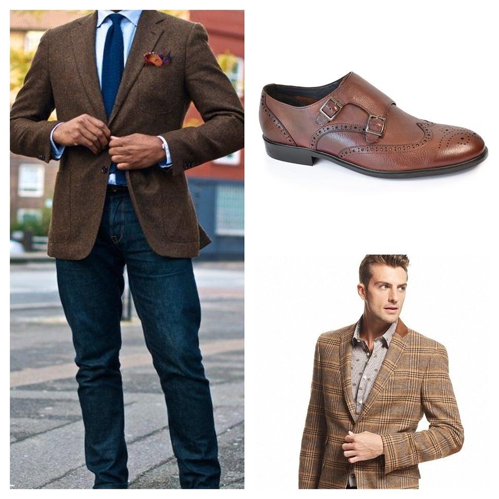 Посмотреть мужские туфли монки