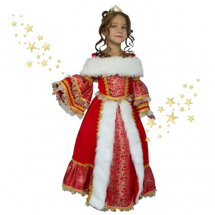 Костюм русской царицы для девочки своими руками 29