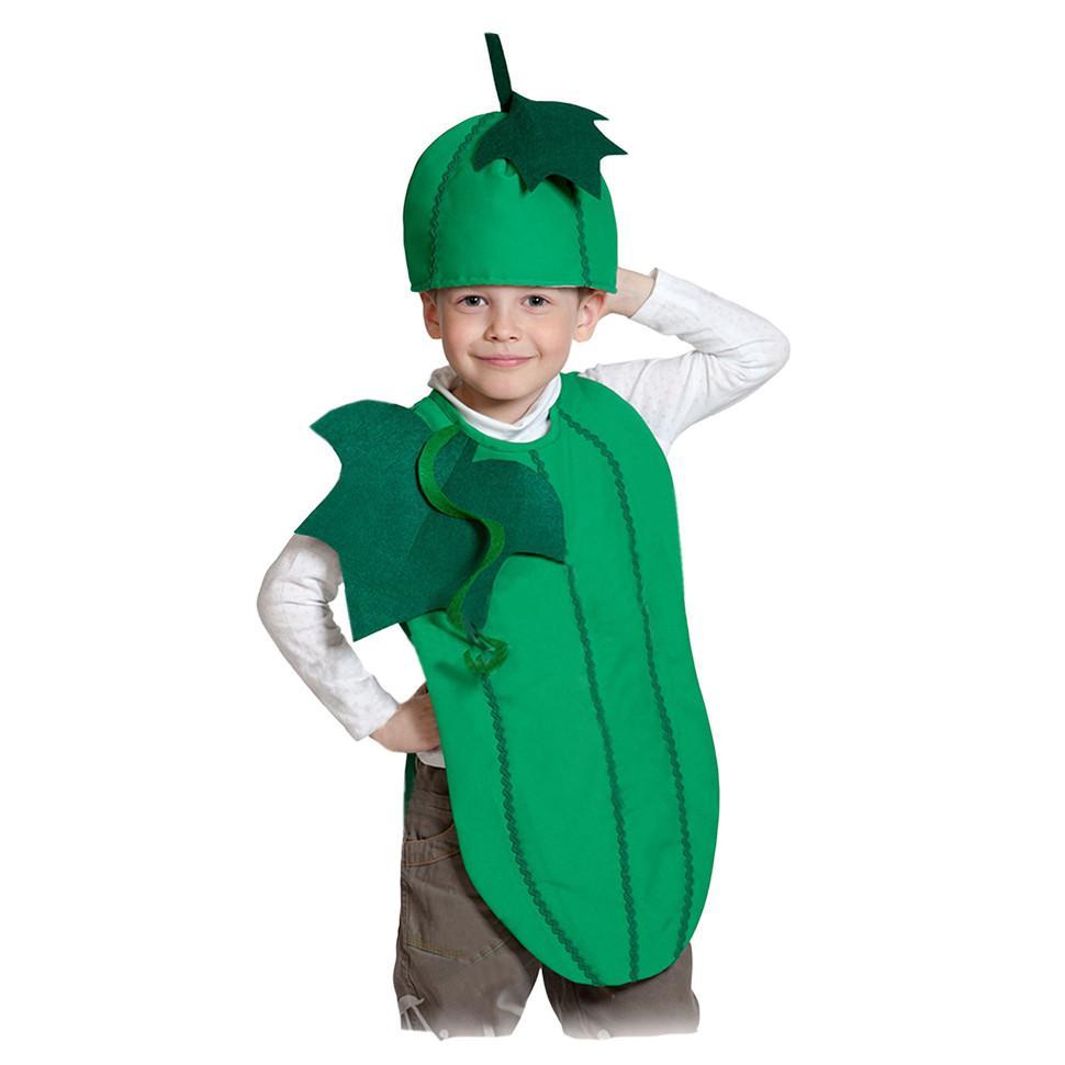 костюм огурца на мальчика