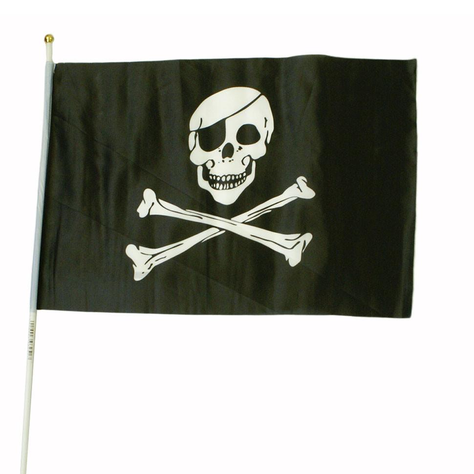 Схема вышивки пиратского флага